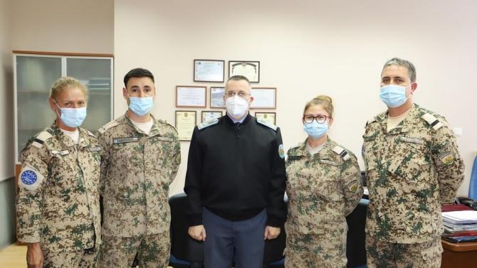 Военни медици с отличия от министъра на отбранатa
