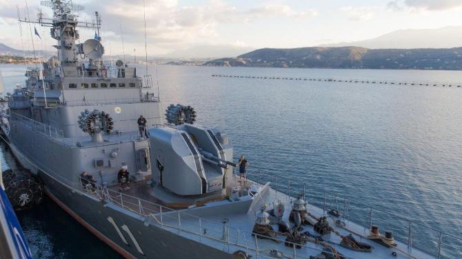 """Фрегата """"Смели""""продължава участието си в състава на Втората постоянна група кораби на НАТО в Средиземно море"""