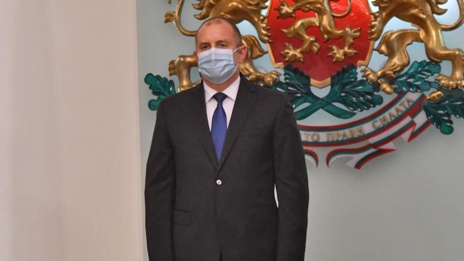 Румен Радев поздрави новоизбрания президент на Република Молдова Майя Санду