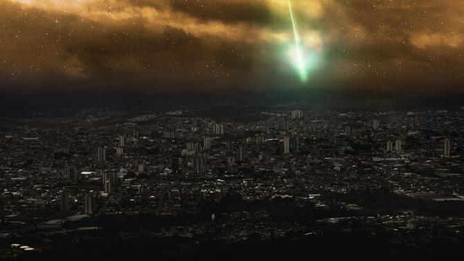 Заснеха голям метеор над Испания и Португалия