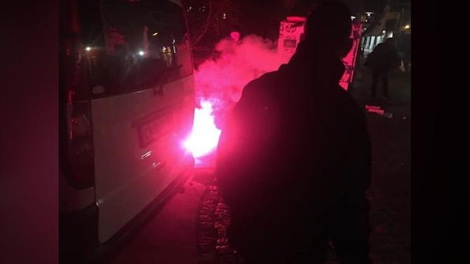 Подробности за екшъна пред централата на ВМРО