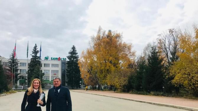 Ангелкова на среща с бизнеса в Самоков заради COVID-19