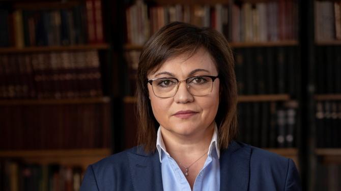 Нинова: И депутатите-учители от БСП ще стават доброволци в подкрепа на образователната система