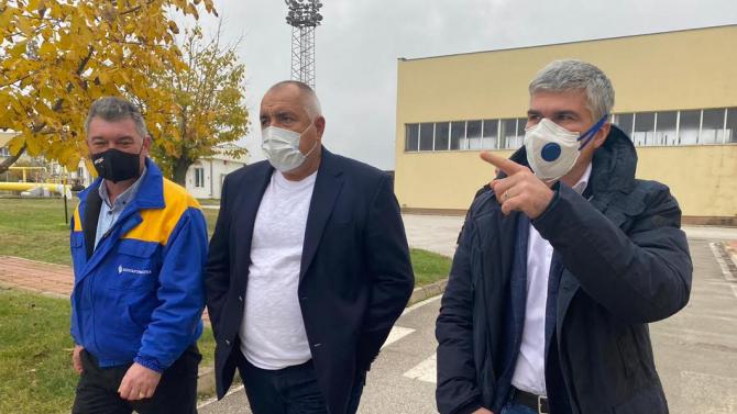Премиерът Борисов: Важно е да имаме къде да съхраним повече газ