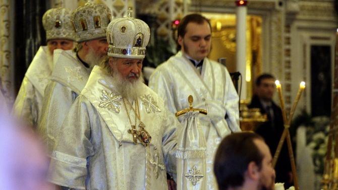 Владимир Путин към патриарх Кирил: Пожелавам Ви здраве