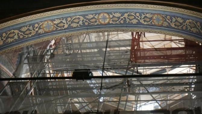 Завърши реставрацията на стенописите на два старинни храма в Кюстендилската духовна околия