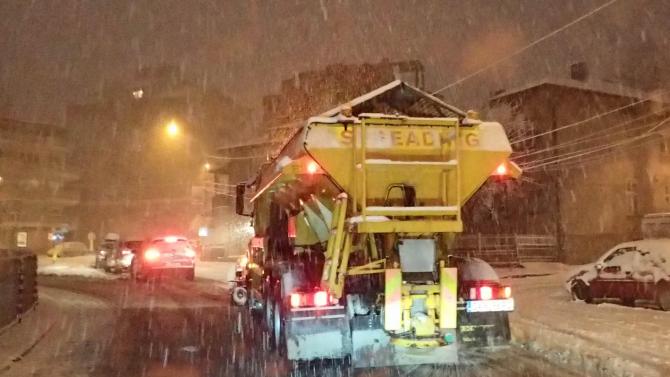 Област Русе е в готовност за предстоящия зимен сезон