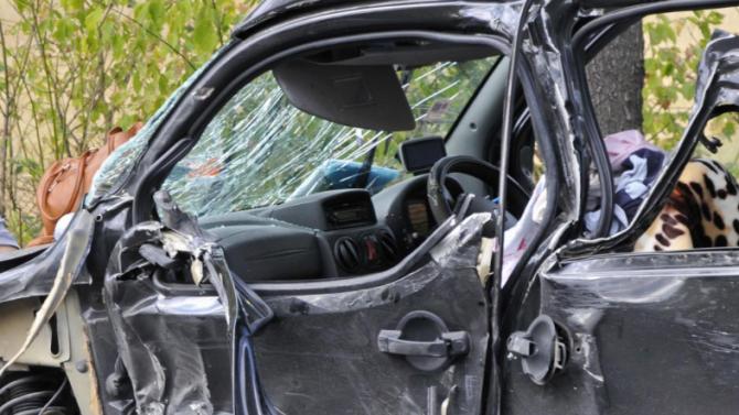 Катастрофа на пътя Русе - Велико Търново, трима души са ранени