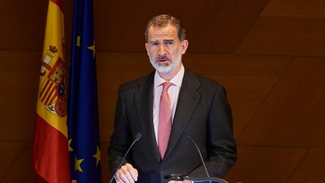 Испанският крал Фелипе Шести под карантина след контакт със заразен с коронавирус