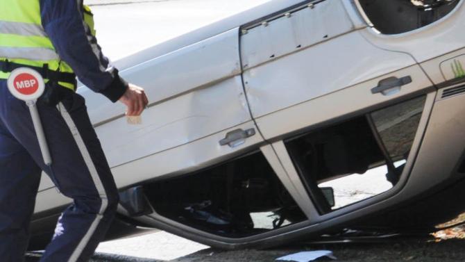 Шофьор пострада при меле на пътя Лом-Монтана