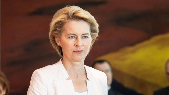 Председателят на Европейската комисия Урсула фон дер ЛайенУрсула фон дер