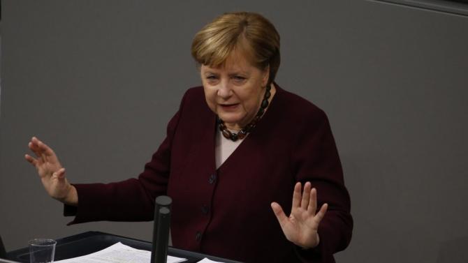 Меркел настоява за по-нататъшни действия за ограничаване на COVID пандемията