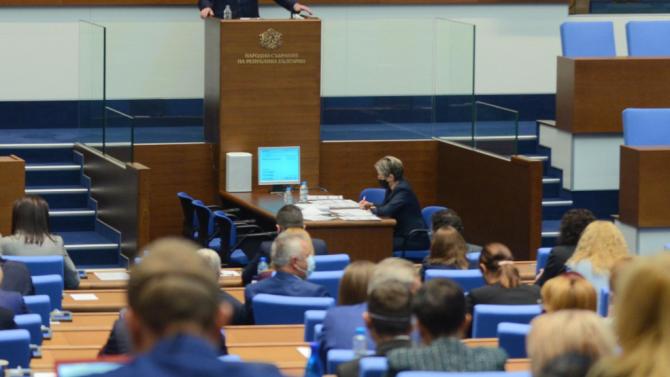 Парламентът спря временната комисия по новата Конституция