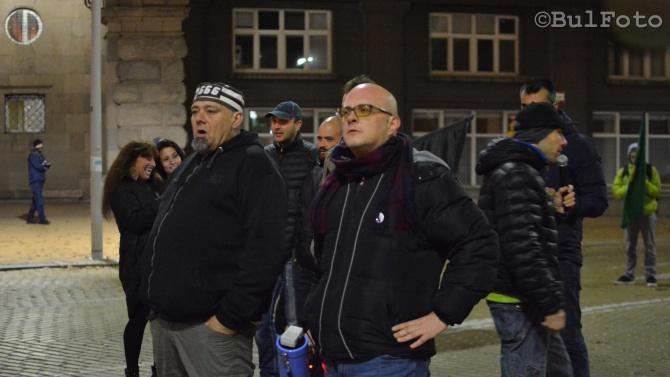 Протестиращи с блокада пред Министерския съвет