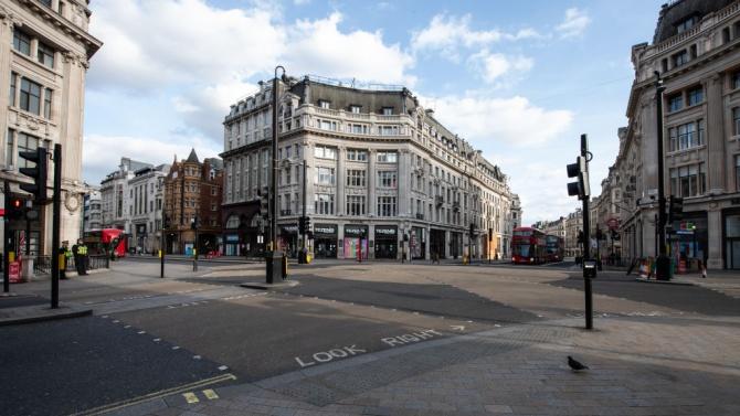 Над 60 задържани при протест срещу карантината в Лондон