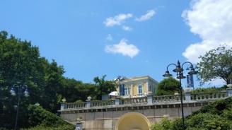 Вандали в Бургас събаряха саксии в Морската градина