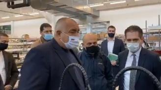 Борисов: Дай Боже до две седмици да намалят числата на заразените с COVID-19