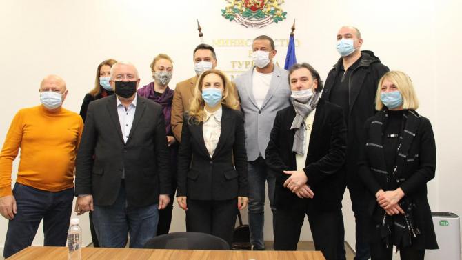 Марияна Николова се срещна с новоучредената Конфедерация на българския туристически бизнес