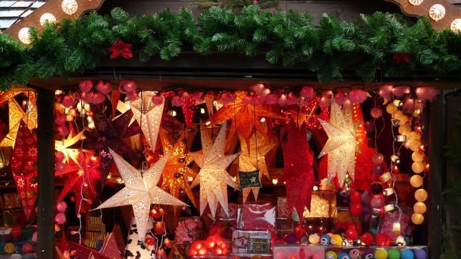 Коледен базар на открито отвори врати във Велико Търново