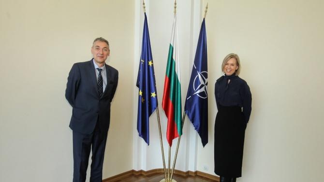 Заместник-министър Дойков прие новоназначения посланик на Финландия