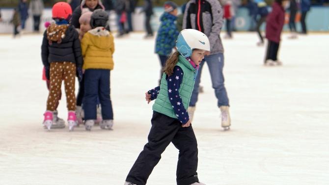 Ледената пързалка във Видин отново ще радва деца и възрастни