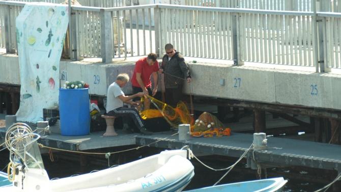 Дребномащабният риболов в Черно море вече е специфична стопанска дейност