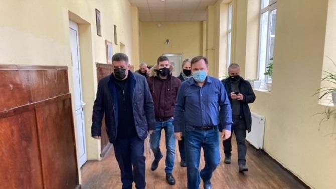 Депутатът от ГЕРБ Пламен Тачев участва в откриването на първото в страната училище с отопление на водород