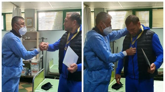"""""""Благодаря на целия екип на болница """"Софиямед"""" и на всички,"""