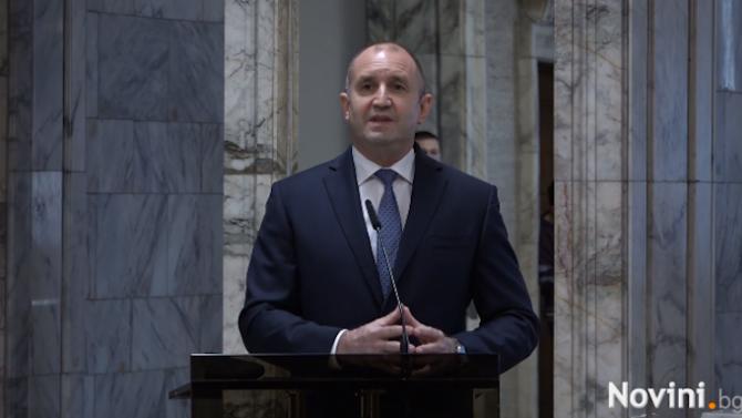 Радев: Ако няма смяна на модела и прозрачност на управлението, никога няма да модернизираме България