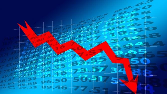 Спад от 5.2% на БВП през третото тримесечие в страната