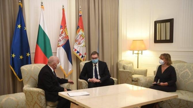 Вучич смята, че Сърбия и България имат много добри отношения