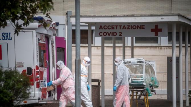 Италия регистрира 21 052 новозаразени с коронавируса и 662 починали
