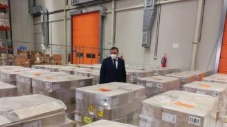 Борисов: 300 000 опаковки нискомолекулярен хепарин пристигнаха тази вечер в България