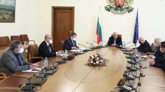 Пред Борисов: Дончев и министрите на икономиката и финансите отчетоха мерките в подкрепа на бизнеса