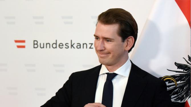 Австрийският канцлер Себастиан Курц си направи тест за коронавируса