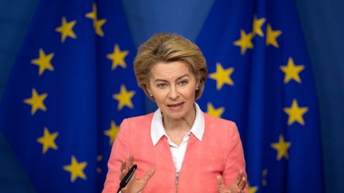 Лидерите на ЕС и на Германия и Франция проведоха видеоконферентна среща преди срещата на върха в Брюксел