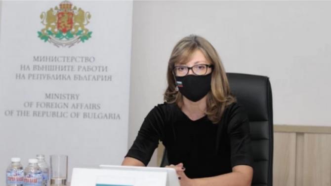 Захариева ще приеме специалния представител на Северна Македония за България