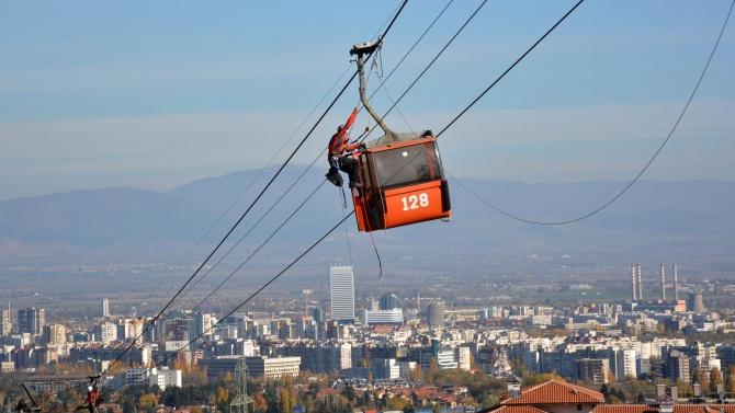 Фандъкова: Ще работим за възстановяването на Княжевския и Драгалевския лифт