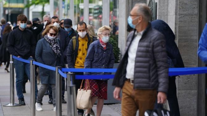 Саксония ще въвежда нови ограничения заради увеличаване на случаите на зараза с коронавируса