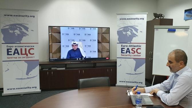 Цветан Цветанов участва в онлайн конференция за киберсигурността