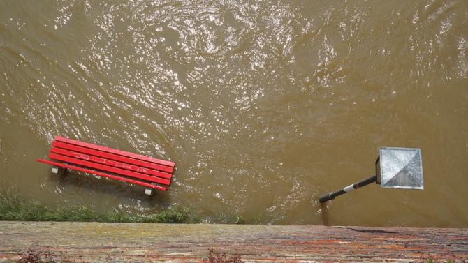 Проливни дъждове наводниха Словения и Хърватия