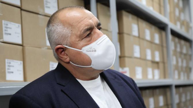 Борисов: Готови сме още днес да посрещнем ваксините срещу COVID-19
