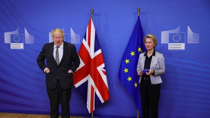 Лондон и Брюксел не се споразумяха при търговски преговори