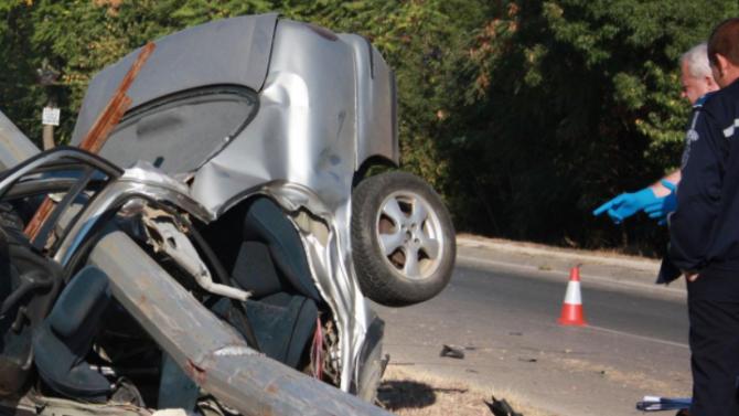 Жестока катастрофа край Варна взе живота на трима младежи