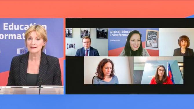Мария Габриел създава Коалиция за образование за климата и Европейски център за цифрово образование