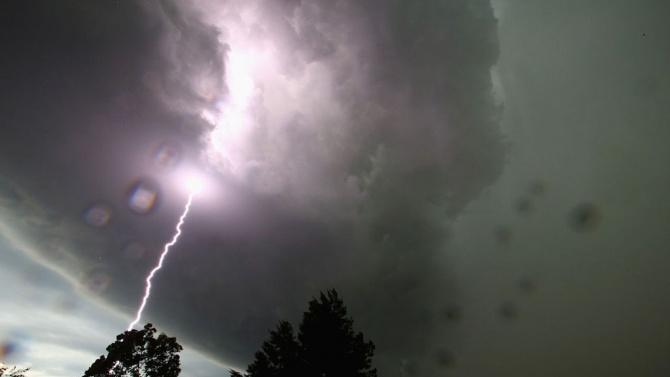 Яка буря удари Хърватия