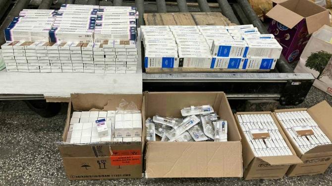 Митнически служители от Териториална дирекция Южна морска задържаха 289 опаковки