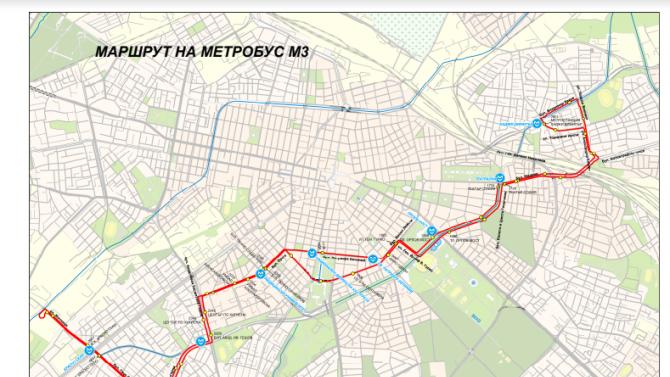 Събота и неделя ще бъде затворен участъка от трета метролиния