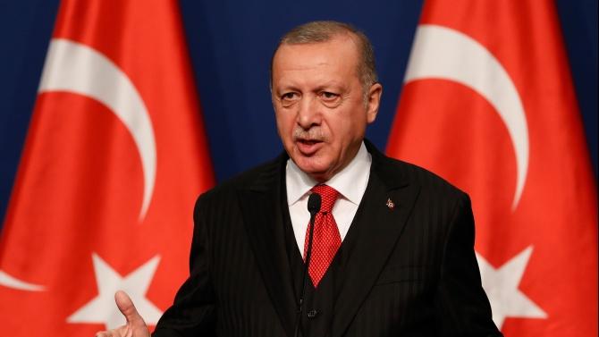 Ердоган: Санкциите от ЕС и САЩ спрямо Турция само ще навредят