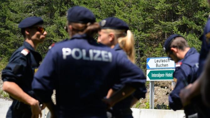 Иззеха огромен арсенал на крайнодесни във Виена